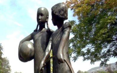 Malbine, une femme en sculpture
